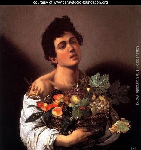 Boy-with-a-Basket-of-Fruit caravaggio